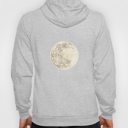 The Flower of Life Moon 2 Hoody