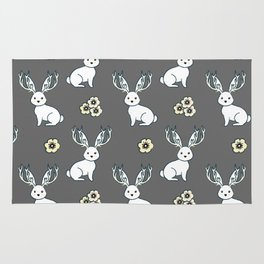 Jackelope of all Trades Pattern Rug