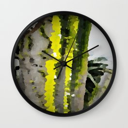 Ocotillo Wall Clock
