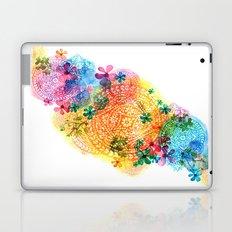 rainbow mandala cloud Laptop & iPad Skin
