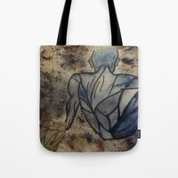 anatomy Tote Bags featuring Anatomy  by Crimson-daisies