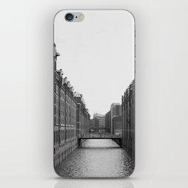 Hamburg Speicherstadt iPhone Skin