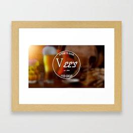 VEE'S B Framed Art Print