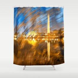 Washington DC Wonderland Shower Curtain