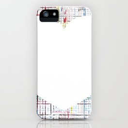 The System - large heart iPhone Case