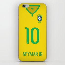 World Cup 2014 - Brazil Shirt Style iPhone Skin