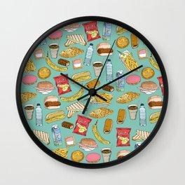 Schoollunch Wall Clock