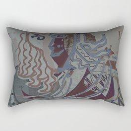 The Piano Girl 2 / Memories / Follies Collection Rectangular Pillow