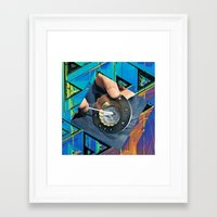 80s Framed Art Prints featuring 80s by tareco