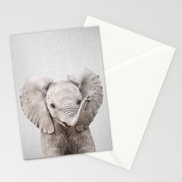 Baby Elephant - Colorful Stationery Cards