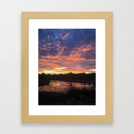 Sunrise I Framed Art Print