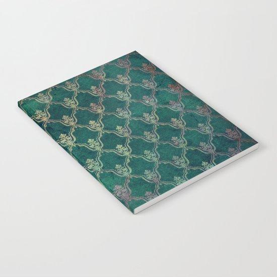 Damask Vintage Pattern 01 Notebook