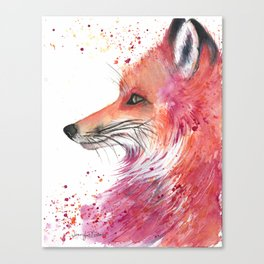 Esprit (Fox) Canvas Print