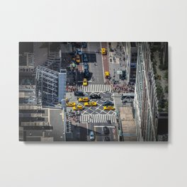 Tiny City Metal Print