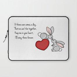 Snuggle Bunnies Laptop Sleeve
