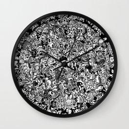 Monster Battle Royale Wall Clock