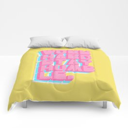 Work Hard Stay Humble Comforters