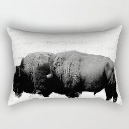 Two Amigos Rectangular Pillow
