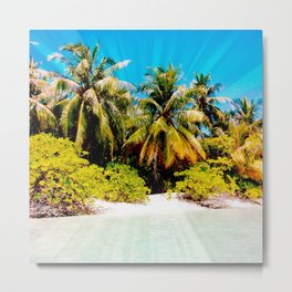 Romantic Beach 09 Metal Print