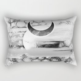 Osram Quicksilver, the Glimmermoon of the Ashanti Rectangular Pillow
