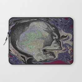 thoughts in my head Laptop Sleeve