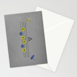 The Song of Time Stationery Cards