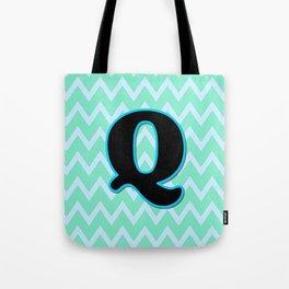 Letter Q Tote Bag