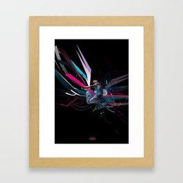 THE DANCER 2 Framed Art Print