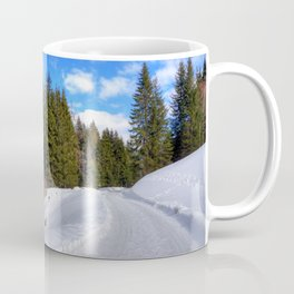 Winter trip to Saalbach, Austria Coffee Mug