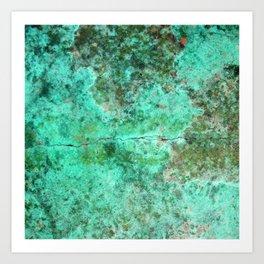Moment of Epiphany: Emerald  Jewel Version Art Print