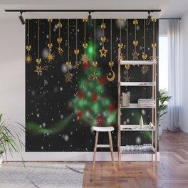 christmas star jewellery Wall Mural