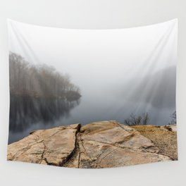 Foggy reflections Wall Tapestry
