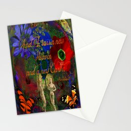 "Adam and Eve's Scriptured ""Earth"" Stationery Cards"