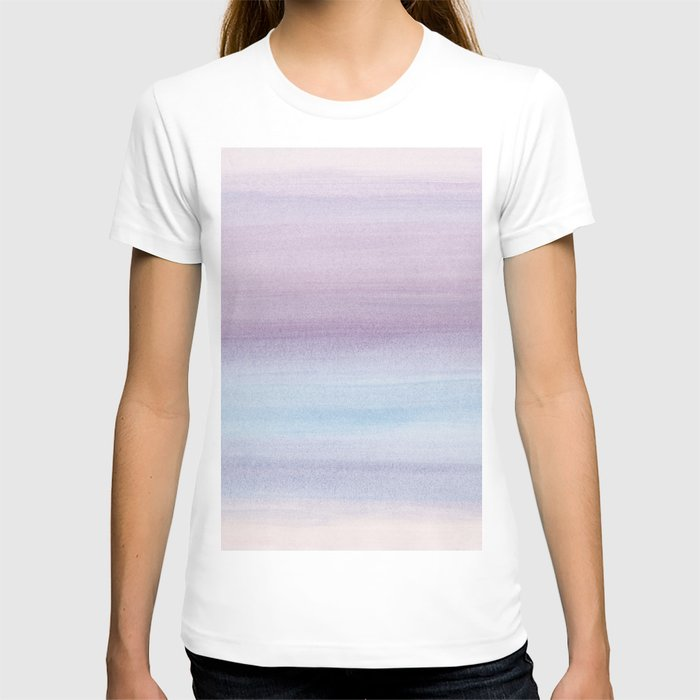 Pastel Watercolor Dream #1 #painting #decor #art #society6 T-shirt