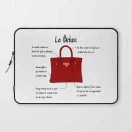 Anatomy of a Birkin Bag Laptop Sleeve