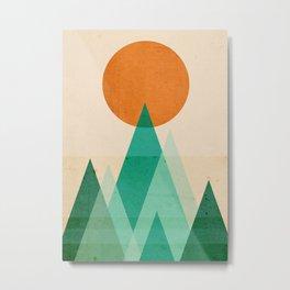 No mountains high enough Metal Print