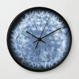 Make A Wish Dandelion Wall Clock