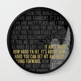 Boxing Motivation, Coach, Boxing Club, Gym Decoration Wall Clock
