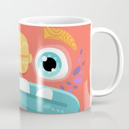 Red Monster Coffee Mug