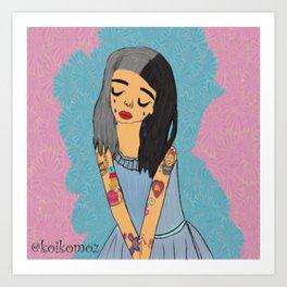 Crybaby Fan Art Art Print