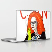 coven Laptop & iPad Skins featuring WE PROTECTED THE COVEN by Robert Red ART