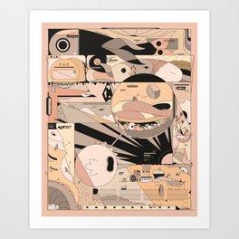 brrrommbbrr Art Print