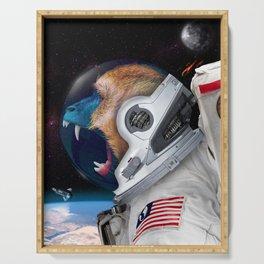 Astronauta Serving Tray