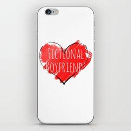 fictional boyfriends iPhone Skin