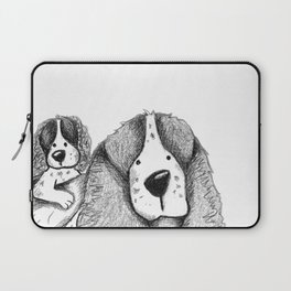 Velcro Dog Laptop Sleeve