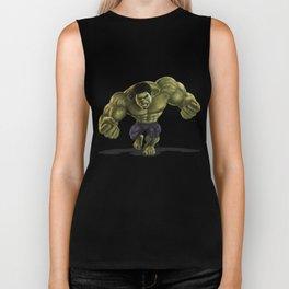 Caricature of Hulk Biker Tank