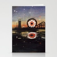 boardwalk empire Stationery Cards featuring Boardwalk by Leon T. Arrieta