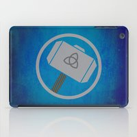 thor iPad Cases featuring Thor by Some_Designs