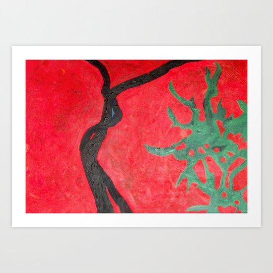 Jasmín Art Print