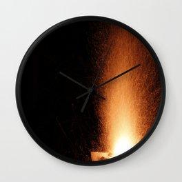 Forge burning bright Wall Clock